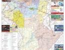 Карта Костанайской области