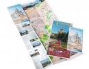 Карта-схема города Костанай (70х50) и турсхема города Костанай